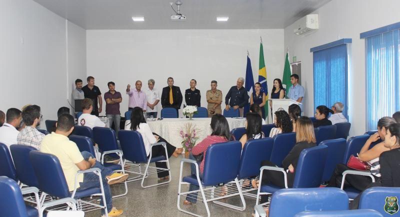 Polícia Militar do 10º Batalhão participa de reunião com Vice-Governador e chefes de instituições e secretarias do Governo do Estado de Rondônia
