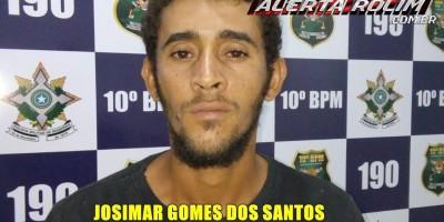 Rolim de Moura – Acusado de roubo é preso pela Polícia Militar em cumprimento a Mandado de Prisão