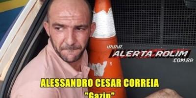 Rolim de Moura – Foragido da prisão em Porto Velho é recapturado pela Polícia Militar em Rolim de Moura