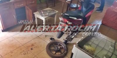 Rolim de Moura – Moto roubada em Alto Alegre é recuperada pela Polícia Civil no Bairro Bom Jardim