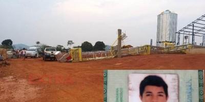 Torre de secador desaba e jovem morre ai cair ao solo, em Cabixi