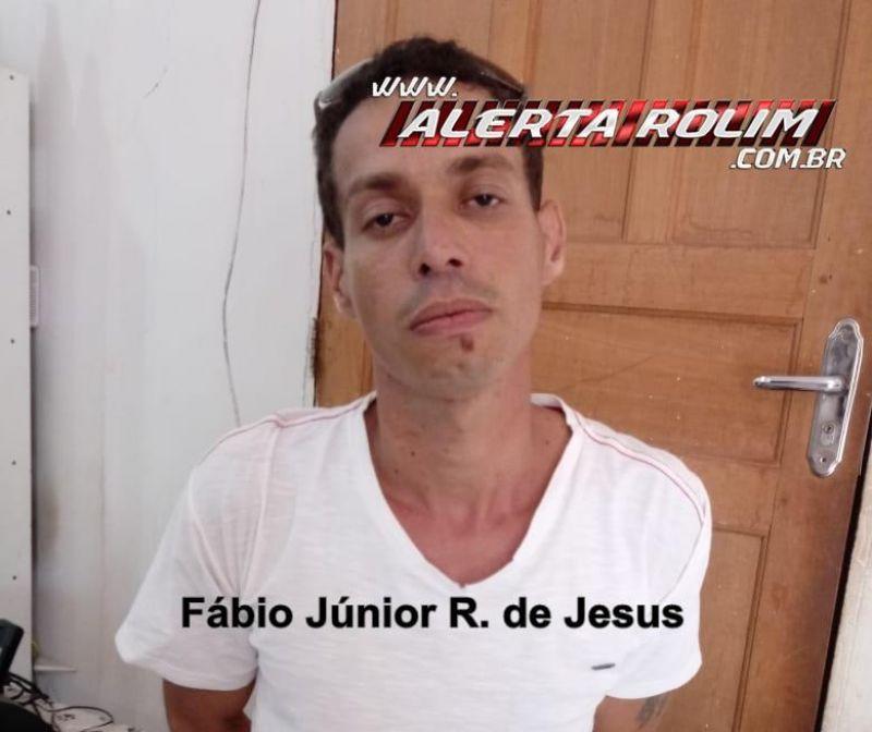 """Rolim de Moura – """"Tentei a sorte"""" – Indivíduo com Mandado de Prisão em aberto mente nome para policiais, mas acaba detido no Bairro Jardim Tropical"""