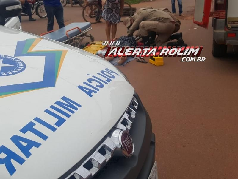 Rolim de Moura – Mais dois acidentes de trânsito foram registrados na cidade, totalizando cinco colisões nessa segunda-feira