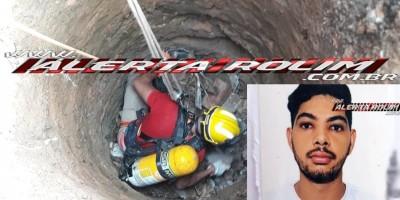 Rolim de Moura – Corpo encontrado dentro de poço é de jovem que estava desaparecido há mais de uma semana