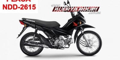 Rolim de Moura – Morador do Bairro Cidade Alta acorda e percebe que sua moto foi furtada