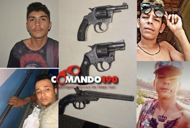 Durante roubo em residência dois assaltantes morrem, um fica ferido e dois são presos após troca de tiros com a PM, em Jí-Paraná