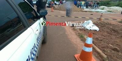 Homem avança contra policiais federais e é morto a tiros, em Pimenta Bueno