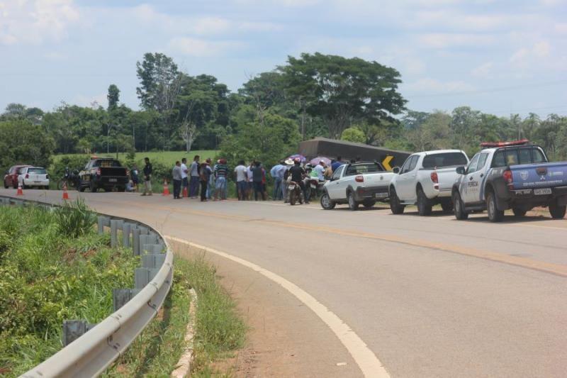 Jovem morre em acidente de trânsito na 1º linha, em Presidente Médici