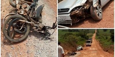 Motociclista vítima de acidente não resiste a ferimentos e morre no HPS Ana Neta em Pimenta Bueno