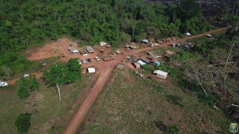 Operação de Reintegração de Posse é realizada em Assentamentos na área de Nova Brasilândia/RO