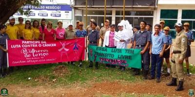 Polícia Mirim do 10º Batalhão em Rolim de Moura participa de atividades alusiva ao Outubro Rosa