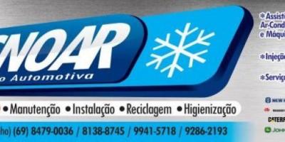 Publicidade - TecnoAR comunica que está atendendo em novo endereço, em Rolim de Moura