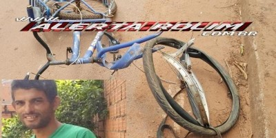 Rolim de Moura – Ciclista atingido por moto no Bairro Boa Esperança não resiste aos ferimentos e morre no HEURO, em Cacoal