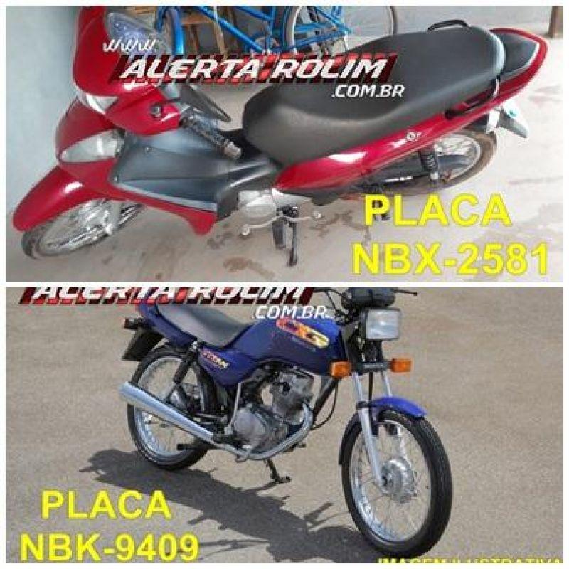 Rolim de Moura – Duas motos foram furtadas em pátio de apartamentos no Centro da cidade