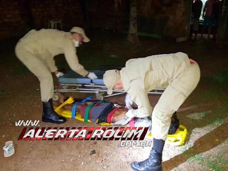 Rolim de Moura - URGENTE - Homem é alvejado por 04 disparos de arma de fogo no Bairro Jardim Tropical