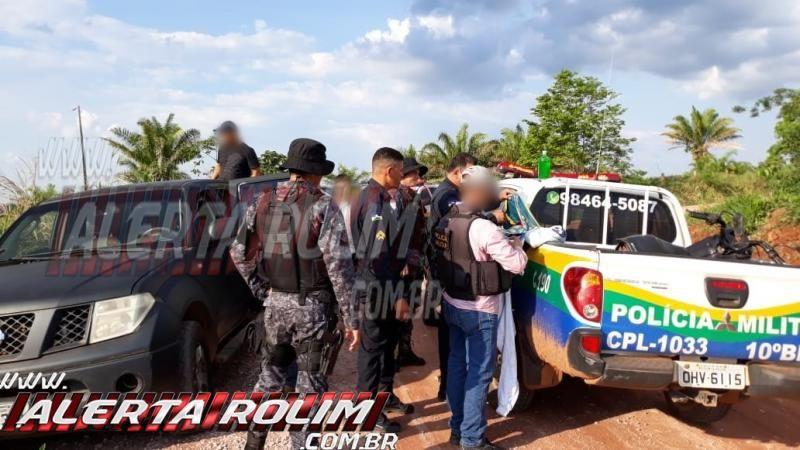 Santa Luzia – Após roubo de carro na linha 180, Força Tarefa é montada pela Polícia Militar e um dos suspeitos acaba preso