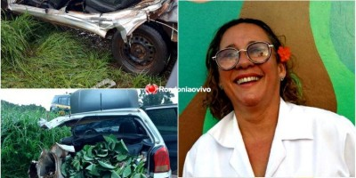 Servidora pública morre após grave acidente com carreta na BR-364
