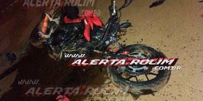 Rolim de Moura – URGENTE - Jovem morre em grave acidente de trânsito envolvendo moto e caminhonete