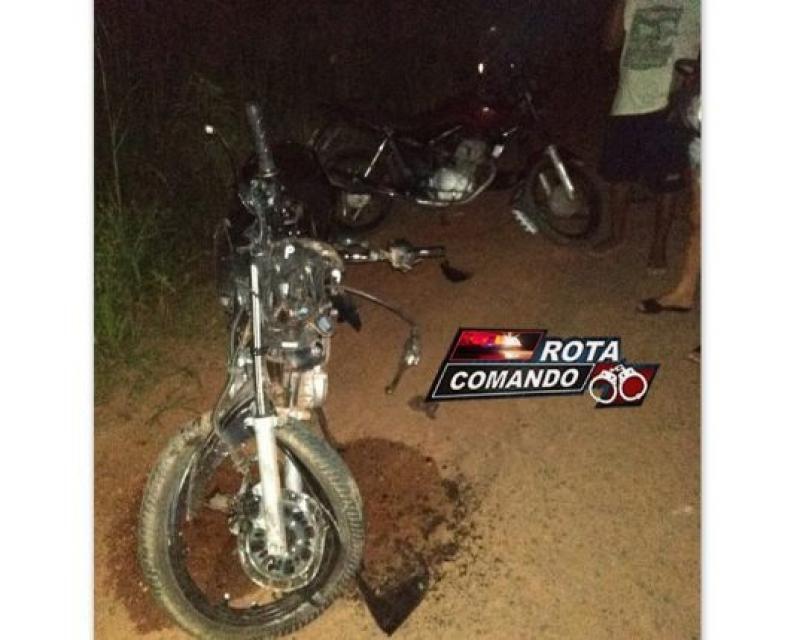 Grave acidente entre caminhão e motocicleta faz vítima fatal, em São Miguel do Guaporé