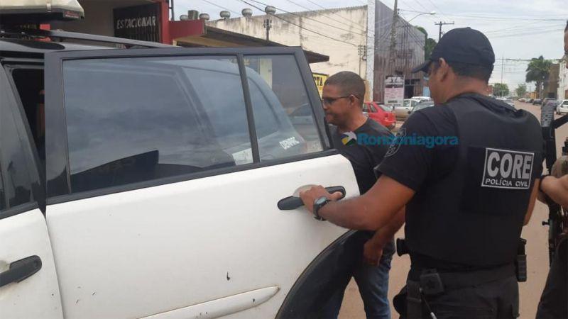 """Diretor de segurança do presídio """"470"""" é preso com drogas; em Porto Velho"""