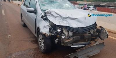 Vídeo: Acadêmica de enfermagem morre em acidente grave na BR-364, em Porto Velho