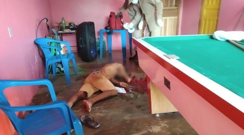 Homem é agredido com machadada na cabeça em bar, em Espigão do Oeste