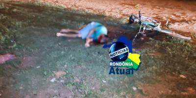 Homem é morto com cinco  tiros na cabeça, em Ji-Paraná