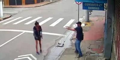 Homem mata a tiros moradora de rua após ela pedir esmola no Centro de Niterói, RJ; veja vídeo