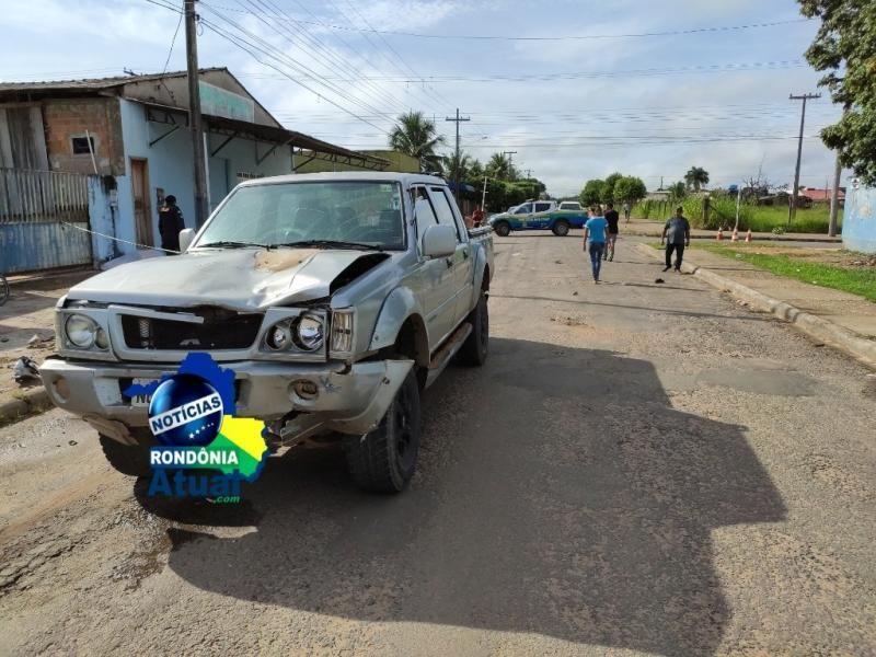 Motociclista morre em acidente na manhã deste domingo, em Ji-Paraná