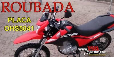 Mulher tem moto roubada por dupla armada no Bairro Cidade Alta, em Alta Floresta