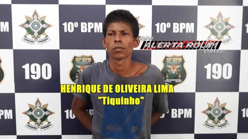 Rolim de Moura – Foragido da prisão é recapturado pela equipe do PATAMO do 10º Batalhão