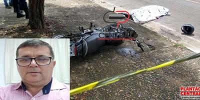 Urgente- Professor morre degolado por fio de telefone, em Jí-Paraná