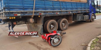 Rolim de Moura – Segundo acidente de trânsito é registrado na Barão de Melgaço na manhã desta terça-feira - Vídeo