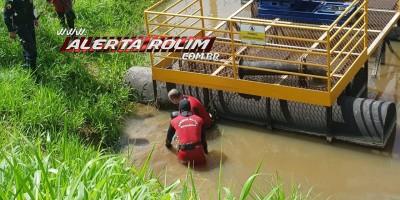 Rolim de Moura – Funcionário da Águas de Rolim é encontrado morto em rio de captação
