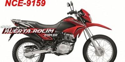 Rolim de Moura – Casal tem motocicleta Bros roubada enquanto conversavam na pista de caminhada na Avenida 25 de Agosto