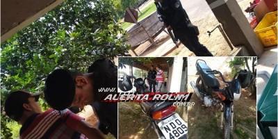 Após denúncia anônima, Polícia Militar de Castanheiras prende suspeito e recupera veículo furtado em Rolim de Moura