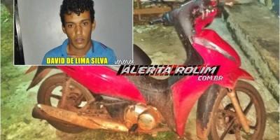 Costa Marques – Polícia Militar prende suspeito e recupera moto furtada em Pimenta Bueno, que seria atravessada para a Bolívia
