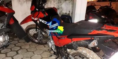 Motocicleta Bros que foi roubada de moradora de Rolim de Moura é recuperada pela PM de Ji-Paraná
