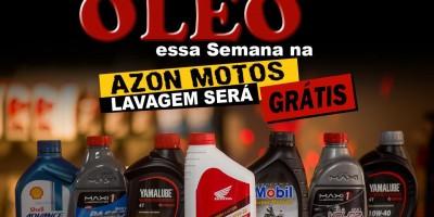 Promoções final de ano Azon Motos