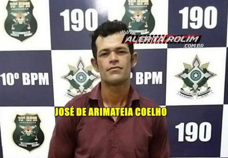 Rolim de Moura – Acusado de roubo e furto é preso pela PM durante a madrugada do feriado de Natal