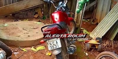 Rolim de Moura – Equipe de Radiopatrulha da PM recupera motocicleta furtada