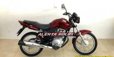 Rolim de Moura – Moto roubada é recuperada, após bandidos ter abandonado veículo por falta de combustível