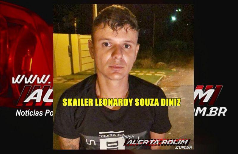 Santa Luzia – Acusado de crime de roubo é preso pela PM em cumprimento de Mandado de Prisão