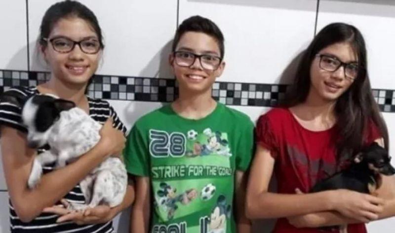 Brasil - Trigêmeos morrem afogados no Rio Paraná