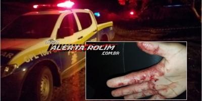 Urgente – Durante discussão, homem em posse de uma faca manteve a ex-namorada como refém, em Santa Luzia