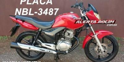 Rolim de Moura - Seis roubos e uma tentativa foram registrados na cidade em menos de 24 horas; Uma motocicleta CG foi levada por bandidos armados