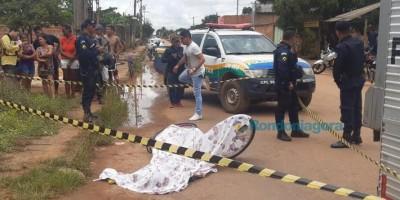 Apenado beneficiado com saída temporária é assassinado no meio da rua, em Porto Velho