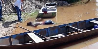 Corpo achado boiando no Rio Machado em Ji-Paraná, é de jovem de Cacoal, que estava desaparecido