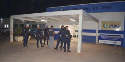 Jaru: Homem armado faz ex-mulher de refém no Hospital Municipal e acaba sendo alvejado pela PM