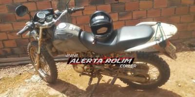 Moto furtada em Alta Floresta é recuperada pela PM em Rolim de Moura